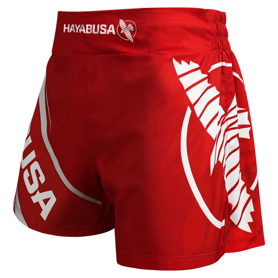 Hayabusa Kickboxing Shorts 2.0 - Red