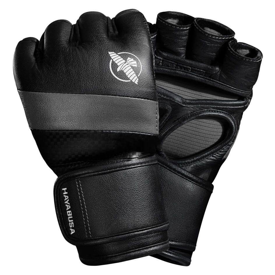 Hayabusa T3 MMA 4oz Gloves - Black / Grey