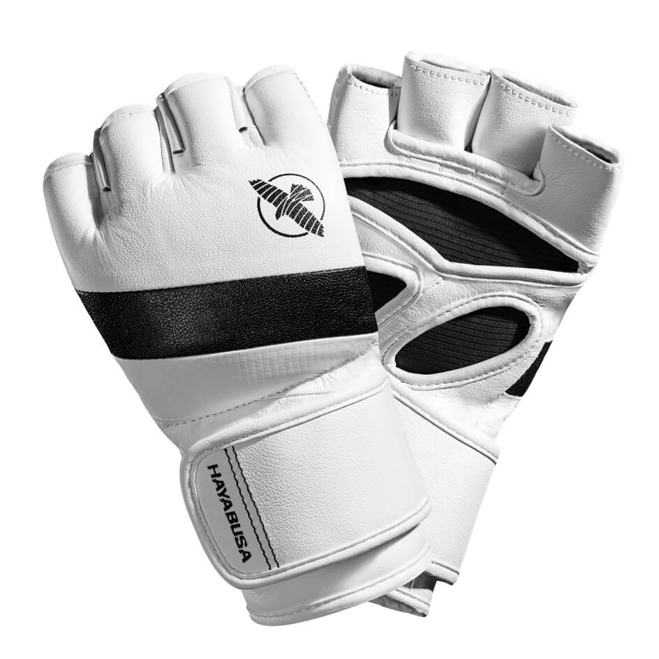 Hayabusa T3 MMA 4oz Gloves - White / Black
