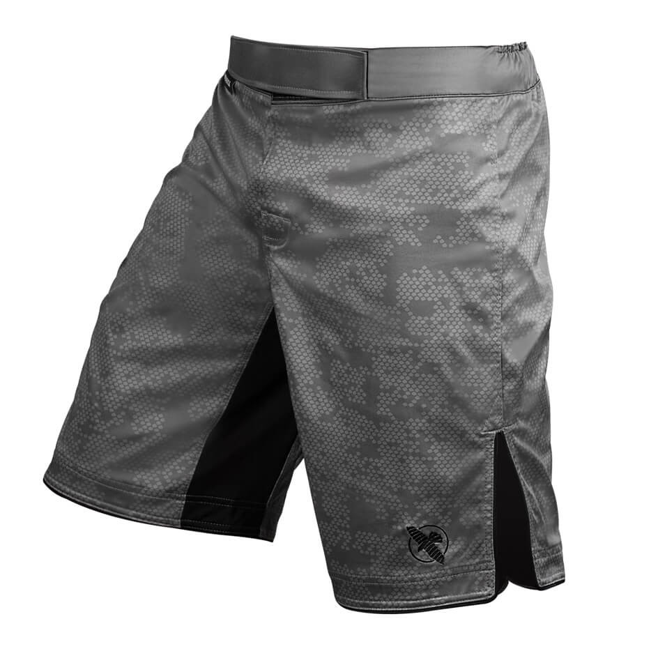 Hayabusa Hexagon Fight Shorts - Grey