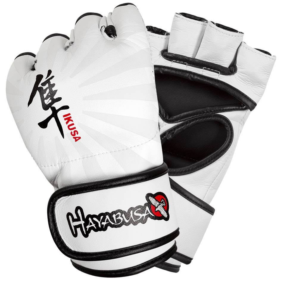 Hayabusa Ikusa 4oz MMA Gloves - White