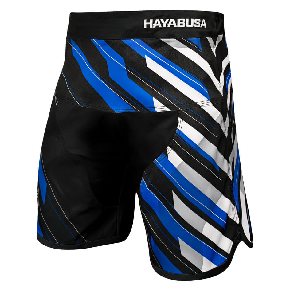 Hayabusa Metaru Charged Jiu Jitsu Shorts - Blue