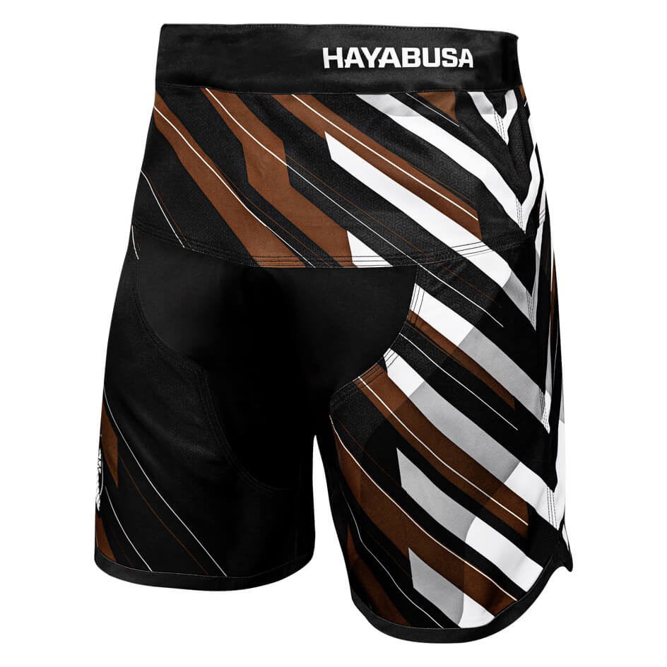 Hayabusa Metaru Charged Jiu Jitsu Shorts - Brown