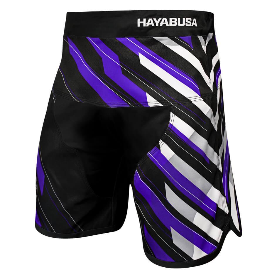 Hayabusa Metaru Charged Jiu Jitsu Shorts - Purple