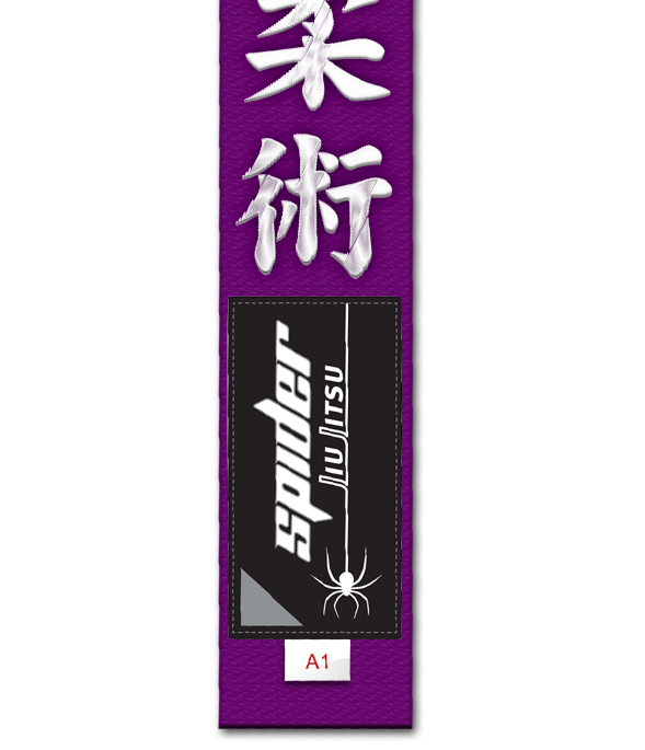 Spider Jiu Jitsu Purple Belt