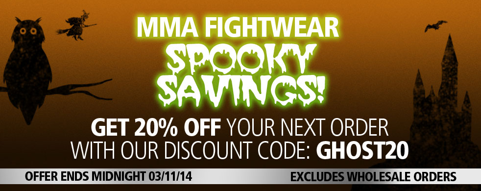 MMA Fightwear Offer Code