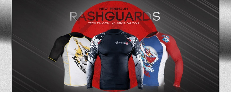 New Hayabusa Rashguard Collection