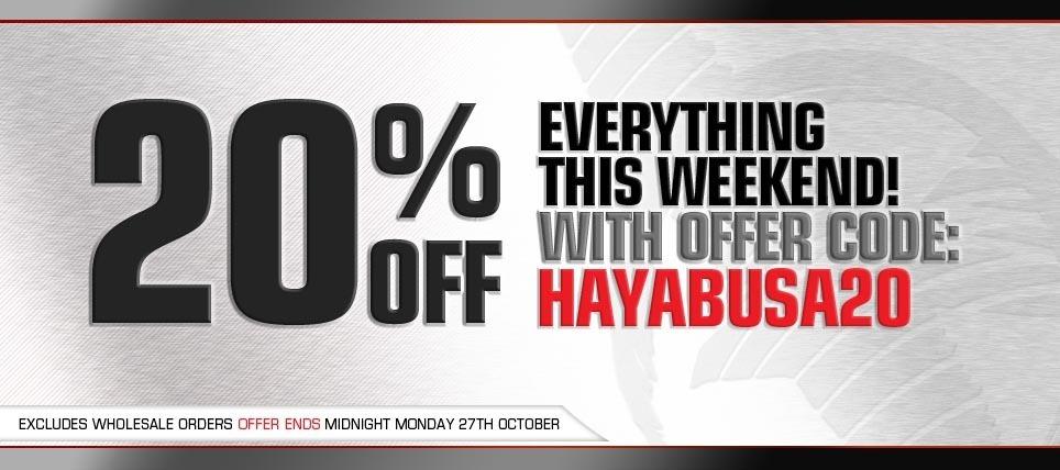Hayabusa Discount Code