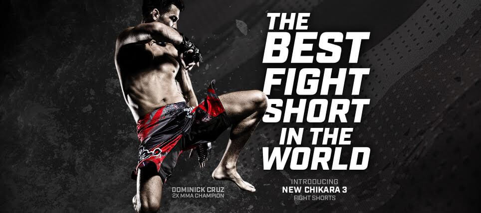 New Hayabusa Chikara 3 Shorts