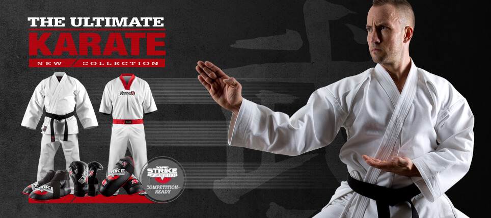 New Hayabusa Winged Strike Karate Range