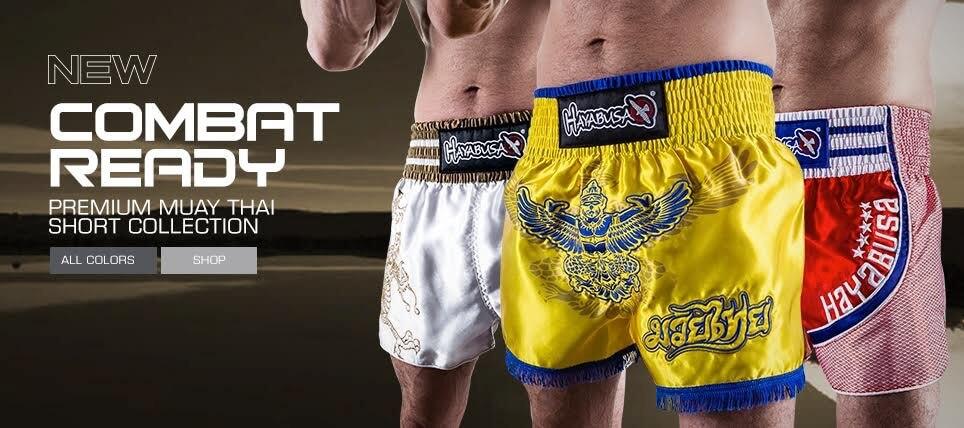 New Hayabusa Muay Thai Shorts