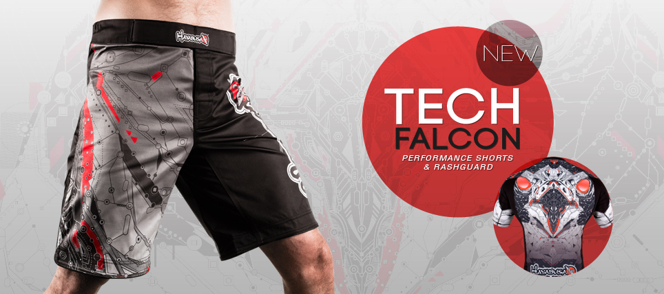 New Hayabusa Tech Falcon Performance Shorts