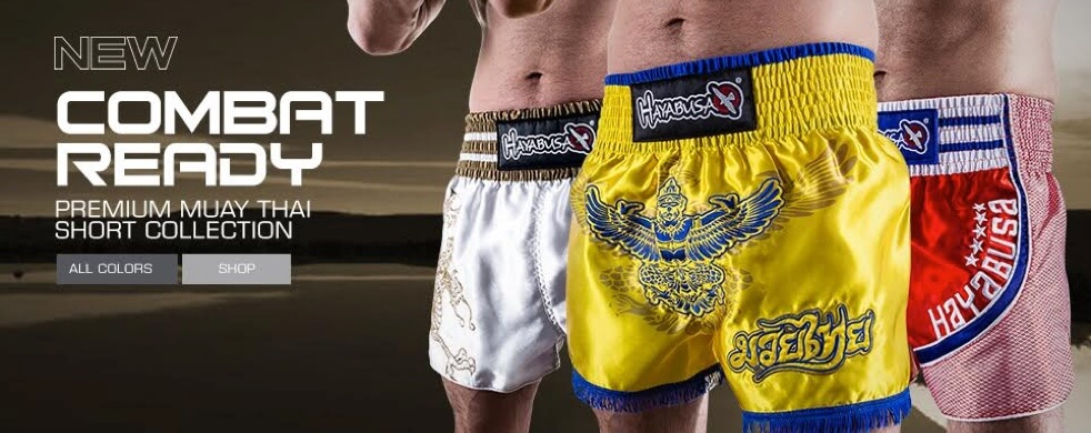 New Hayabusa Muay Thai Shorts