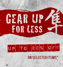 Gear up for less*