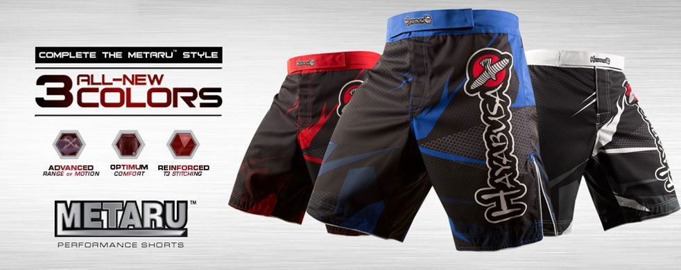 Hayabusa Metaru Performance Shorts