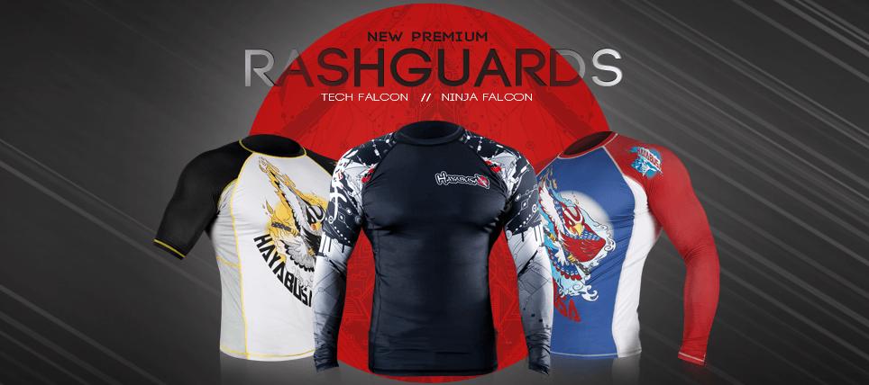 New Hayabusa Rashguard Collection